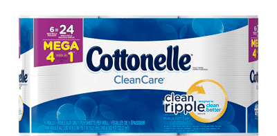 $0.50 for Cottonelle® Toilet Paper (expiring on Monday, 03/19/2018). Offer available at multiple stores.