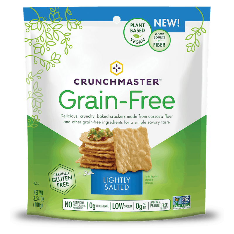 $1.00 for Crunchmaster® Grain-Free (expiring on Sunday, 01/05/2020). Offer available at multiple stores.