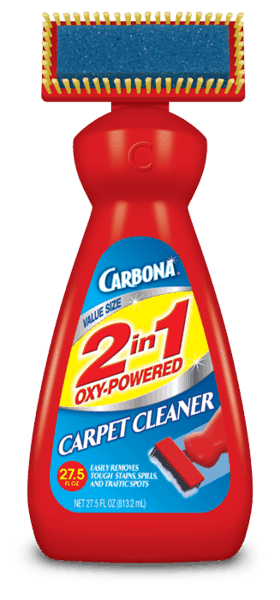 $2.00 for Carbona® 2 in 1 Oxy-Powered Carpet Cleaner. Offer available at multiple stores.