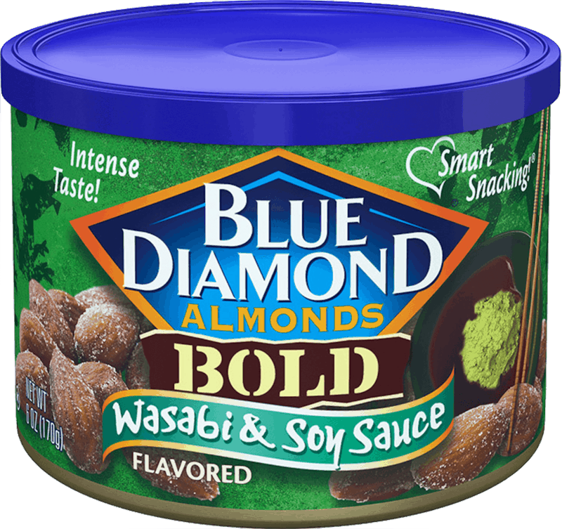 $0.50 for Blue Diamond® Almonds. Offer available at Walmart.