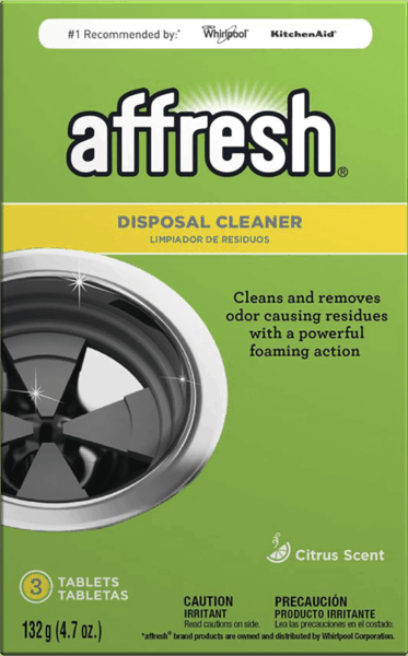 $0.75 for Affresh® Disposal Cleaner (expiring on Monday, 10/30/2017). Offer available at Lowe's.