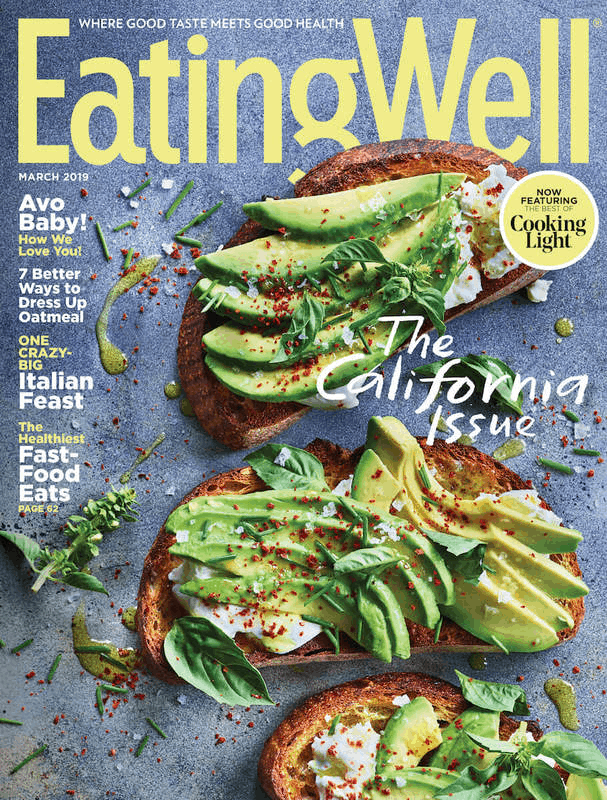 $1.00 for Eating Well Magazine (expiring on Wednesday, 10/02/2019). Offer available at Walmart.