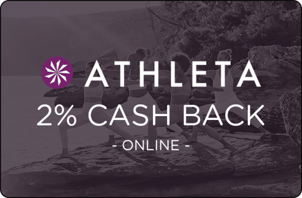 $0.00 for Athleta (expiring on Thursday, 12/31/2020). Offer available at Athleta.