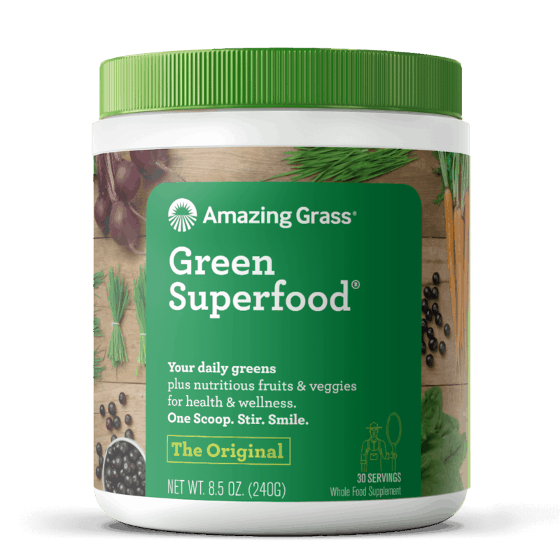 $0.75 for Amazing Grass® Green Superfood® (expiring on Saturday, 01/25/2020). Offer available at multiple stores.