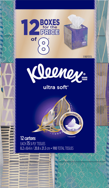 $3.00 for Kleenex® Bundle Pack. Offer available at Sam's Club.