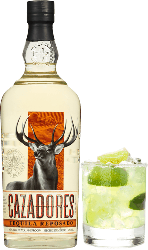 $2.00 for Tequila Cazadores (expiring on Sunday, 09/06/2020). Offer available at Any Restaurant, Any Bar.