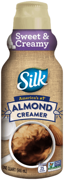 $1.00 for Silk® Almond Creamer (expiring on Saturday, 03/31/2018). Offer available at multiple stores.