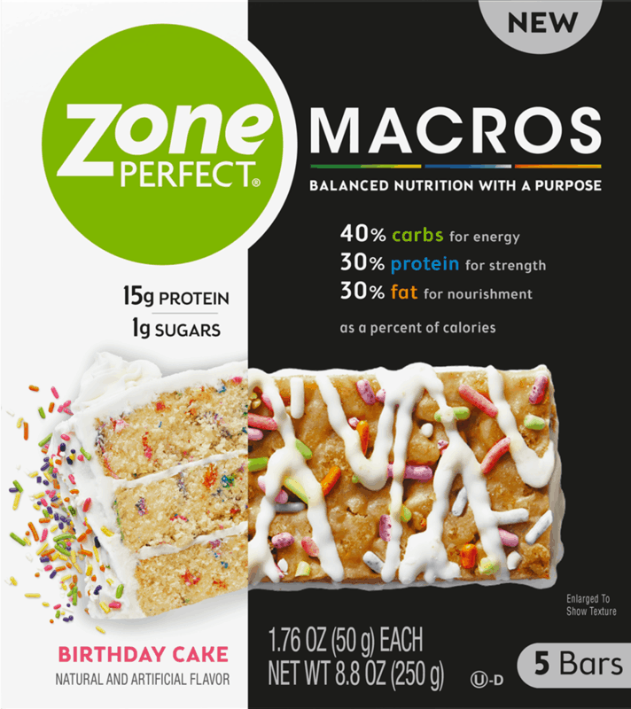 $1.50 for ZonePerfect Macros Multi-Pack (expiring on Friday, 05/08/2020). Offer available at Walmart, Walmart Grocery.