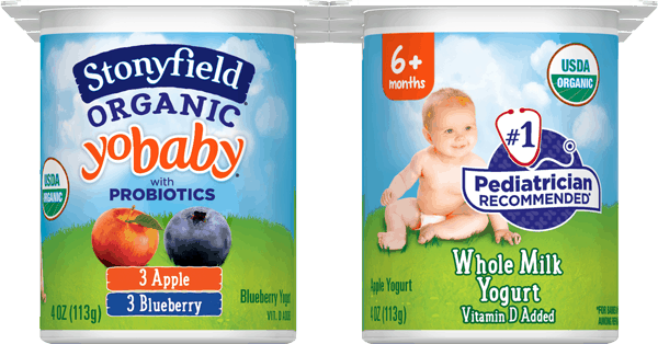 $0.45 for Stonyfield® YoBaby® Yogurt Multi-Packs. Offer available at multiple stores.