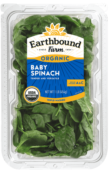 $1.00 for Earthbound Farm® Organic Baby Spinach (expiring on Monday, 11/20/2017). Offer available at Costco.
