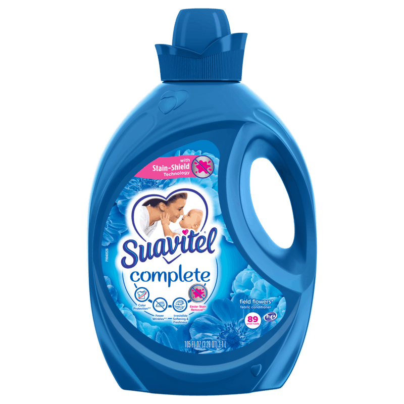 $1.25 for Suavitel® Complete. Offer available at Walmart, Walmart Pickup & Delivery.