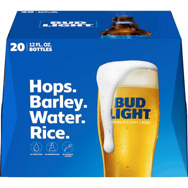 $1.00 for Budweiser® or Bud Light® (expiring on Wednesday, 01/01/2020). Offer available at multiple stores.