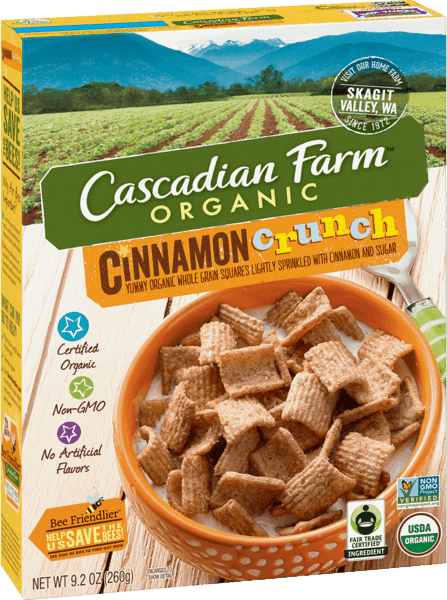 $1.00 for Cascadian Farm™ Products. Offer available at Walmart.