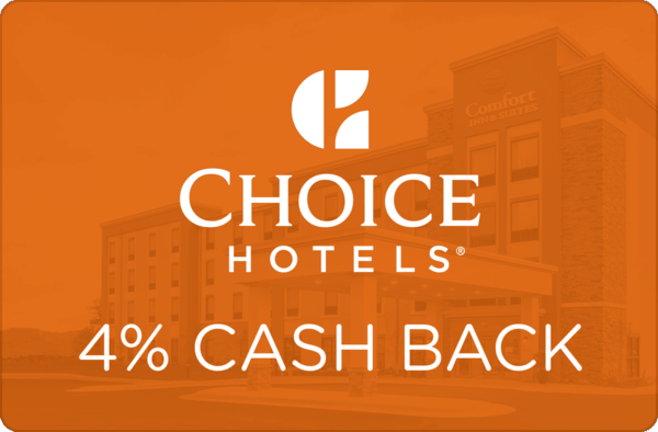 $0.00 for Choice Hotels (expiring on Wednesday, 02/28/2018). Offer available at Choice Hotels.