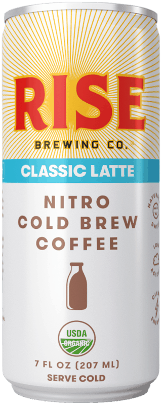 $1.00 for RISE Brewing Co. Nitro Cold Brew Coffee (expiring on Friday, 07/19/2019). Offer available at Safeway, Walmart.