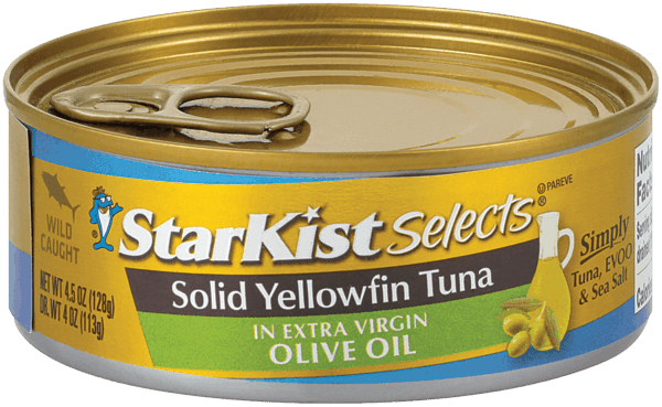 $0.50 for StarKist Selects® Cans in Extra Virgin Olive Oil (expiring on Tuesday, 01/01/2019). Offer available at multiple stores.
