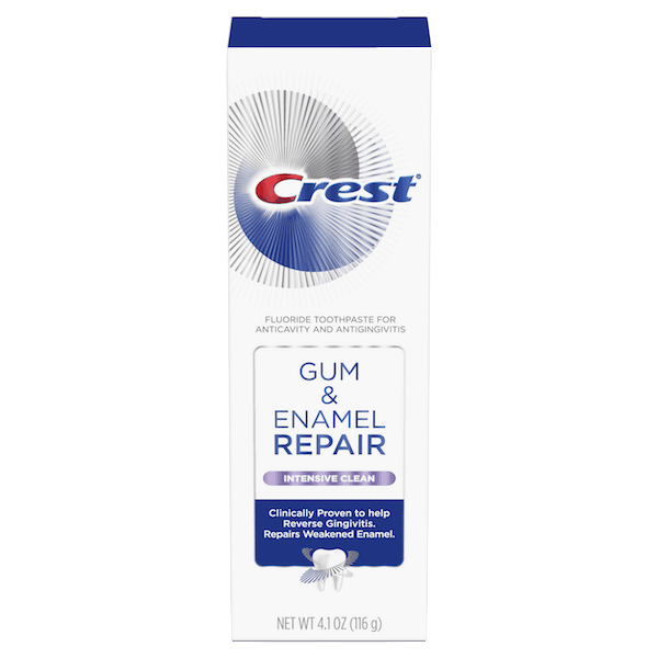 $2.00 for Crest® Gum & Enamel Repair Toothpaste (expiring on Wednesday, 10/02/2019). Offer available at Walmart.
