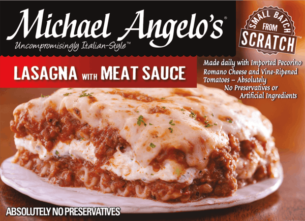 $0.75 for Michael Angelo's® Frozen Meals (expiring on Wednesday, 01/10/2018). Offer available at Walmart.