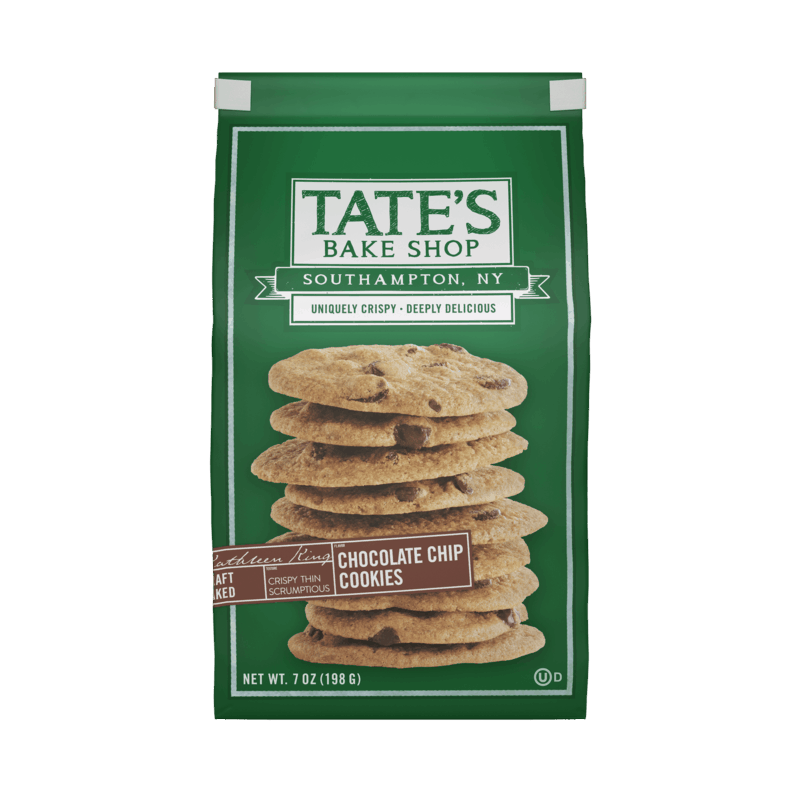 $1.00 for Tate's Bake Shop Cookies (expiring on Monday, 05/31/2021). Offer available at Walmart, Walmart Pickup & Delivery.