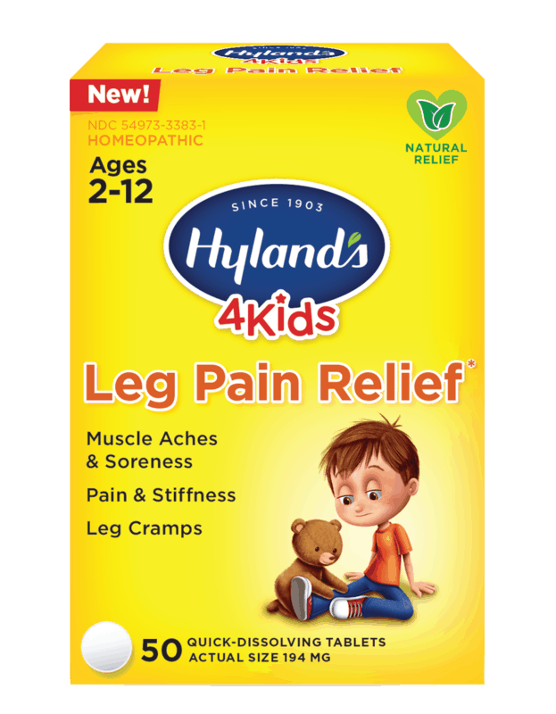 $2.00 for Hyland's® 4 Kids Leg Pain Relief. Offer available at CVS Pharmacy.