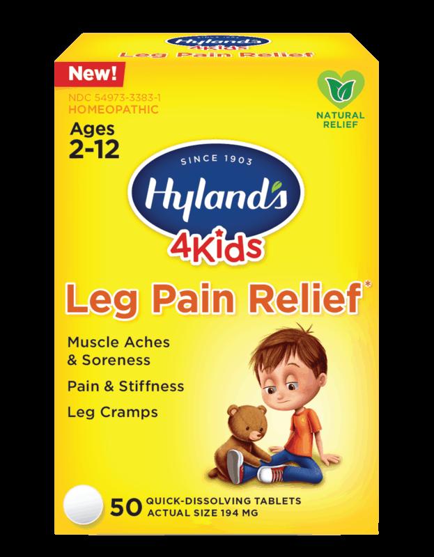 $2.00 for Hyland's® 4 Kids Leg Pain Relief (expiring on Thursday, 04/02/2020). Offer available at CVS Pharmacy.