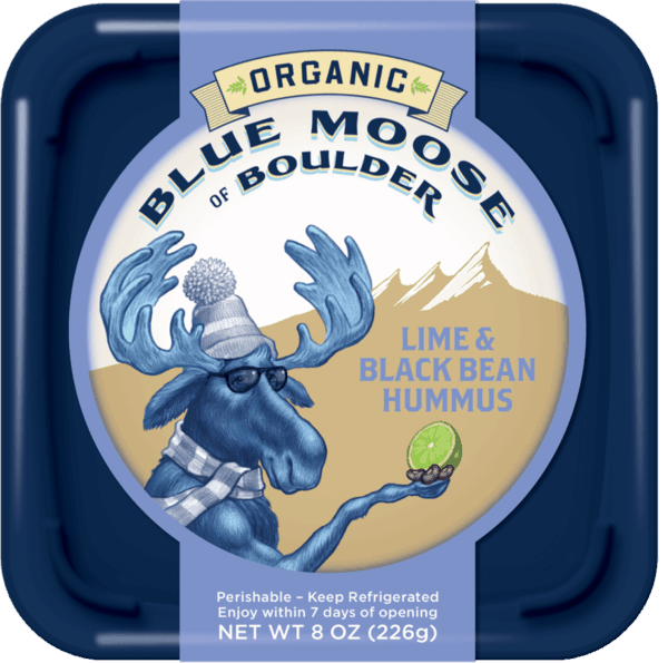 $1.00 for Blue Moose® Organic Hummus (expiring on Wednesday, 07/04/2018). Offer available at multiple stores.