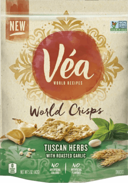 $1.00 for VEA Crackers. Offer available at ShopRite.