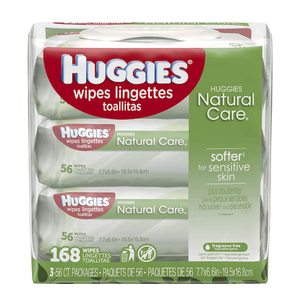 $0.50 for Huggies® Wipes. Offer available at Walmart.