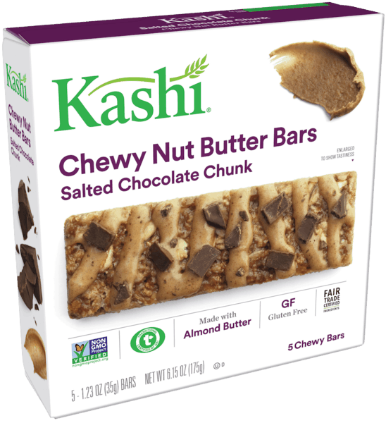 $1.00 for Kashi® Bars (expiring on Saturday, 08/11/2018). Offer available at Walmart.
