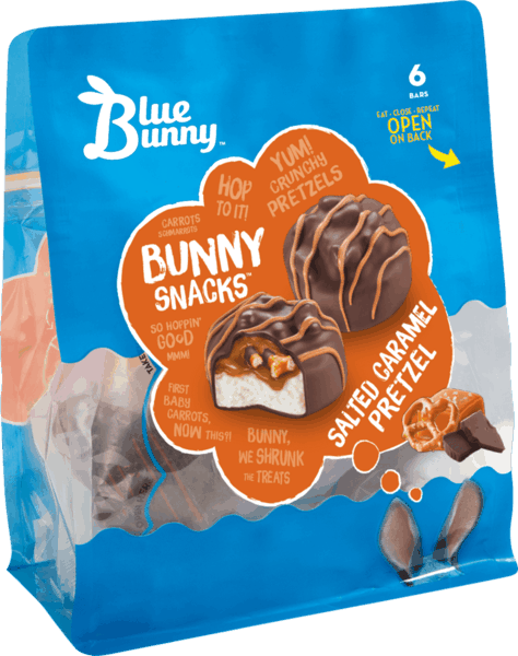 $1.00 for Blue Bunny® Bunny Snacks™ (expiring on Friday, 08/17/2018). Offer available at multiple stores.