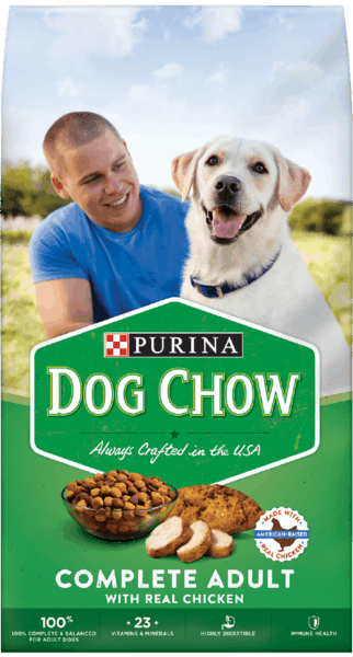 $1.00 for PURINA® Dog Chow® (expiring on Sunday, 12/10/2017). Offer available at Walmart.