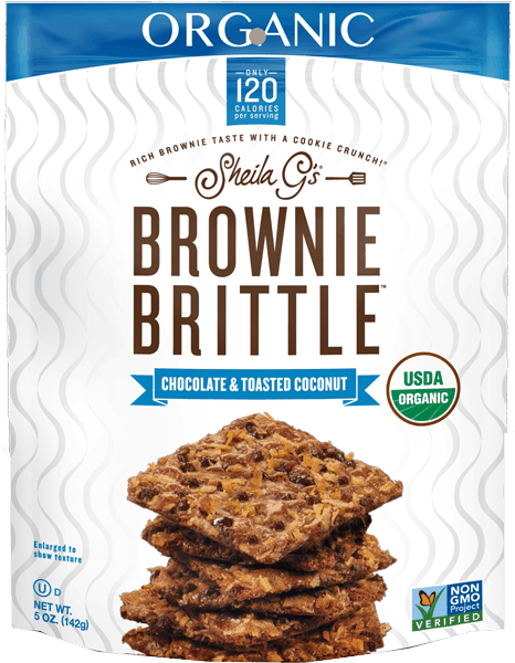 $1.00 for Brownie Brittle™ Organic (expiring on Friday, 02/02/2018). Offer available at Kroger.