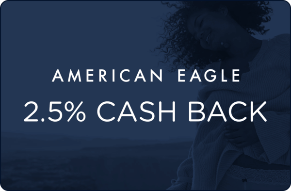 $0.00 for American Eagle (expiring on Saturday, 01/26/2019). Offer available at AmericanEagle.com.