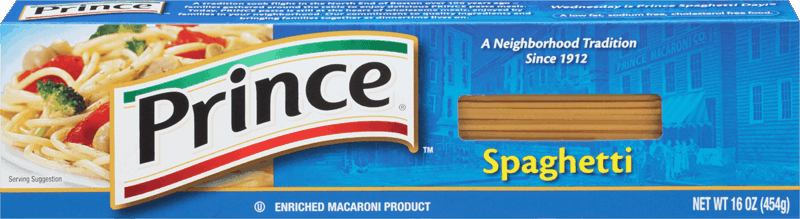 $1.00 for Prince® Pasta. Offer available at Walmart.