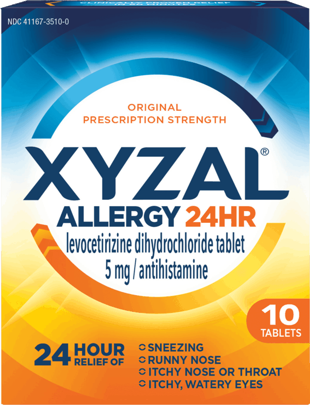 $3.00 for Xyzal Allergy Relief. Offer available at Walmart, Walmart Grocery.