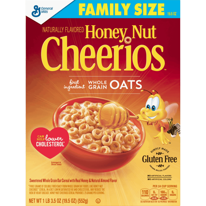 $1.50 for Honey Nut Cheerios™ (expiring on Monday, 09/02/2019). Offer available at Walmart.