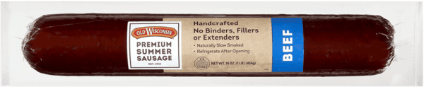 $0.50 for Old Wisconsin® Summer Sausage (expiring on Saturday, 06/02/2018). Offer available at Walmart.