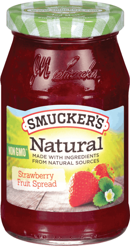$0.50 for Smucker's® Natural Fruit Spread. Offer available at Walmart.