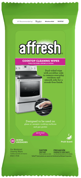 $1.00 for affresh® Cooktop Cleaning Wipes (expiring on Tuesday, 01/08/2019). Offer available at Kroger, Home Depot.