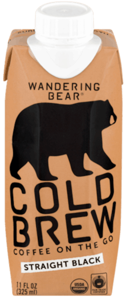 $1.00 for Wandering Bear® Cold Brew. Offer available at Stop & Shop, Foodtown, King's.