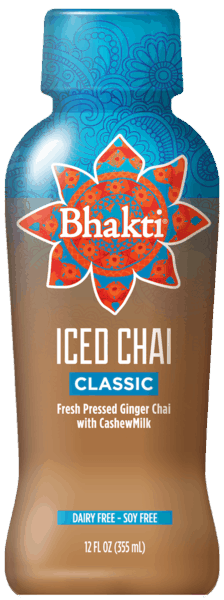 $0.75 for Bhakti Iced Chai (expiring on Tuesday, 04/02/2019). Offer available at King Soopers.