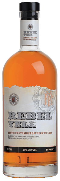 $4.00 for Rebel Yell Kentucky Straight Bourbon Whiskey. Offer available at multiple stores.