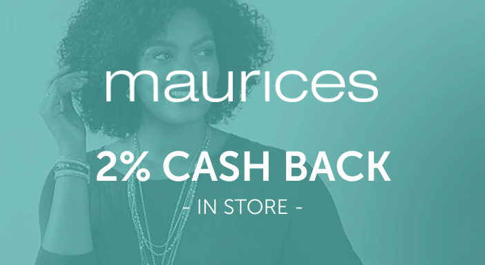 $0.00 for Maurices (expiring on Wednesday, 09/30/2020). Offer available at maurices.