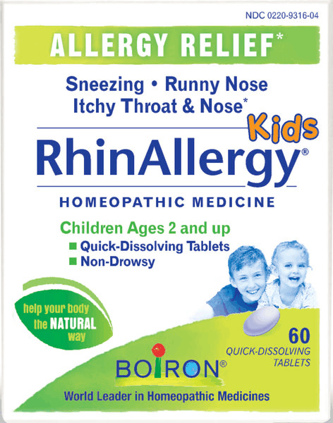 $3.00 for RhinAllergy® Kids Tablets. Offer available at CVS Pharmacy, Walmart Grocery.