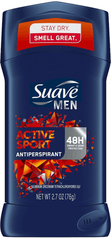 $0.50 for Suave Men Antiperspirant Deodorant (expiring on Saturday, 03/28/2020). Offer available at multiple stores.