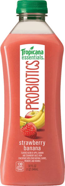 $1.00 for Tropicana Essentials® Probiotics (expiring on Sunday, 12/31/2017). Offer available at Walmart.