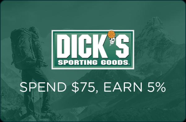 $0.00 for DICKS Sporting Goods® (expiring on Thursday, 09/06/2018). Offer available at Dick's Sporting Goods.