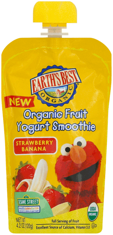 $1.00 for EARTH'S BEST® Organic Pouches (expiring on Monday, 04/01/2019). Offer available at Walmart.