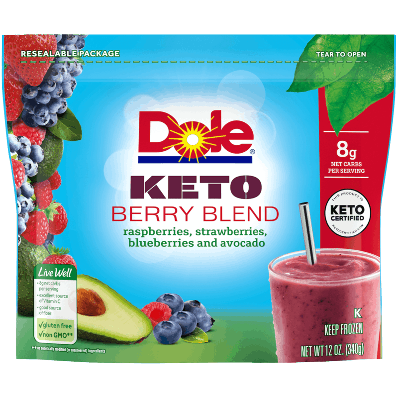 $1.00 for Dole Keto Berry Blend (expiring on Saturday, 03/06/2021). Offer available at multiple stores.