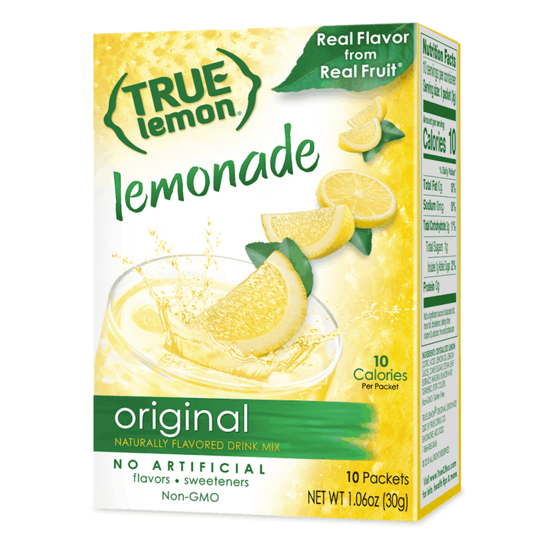 $0.50 for True Lemon. Offer available at multiple stores.